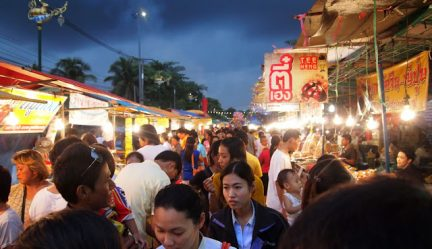 Chanthaburi Durian Festival in the Rain | Photo Essay