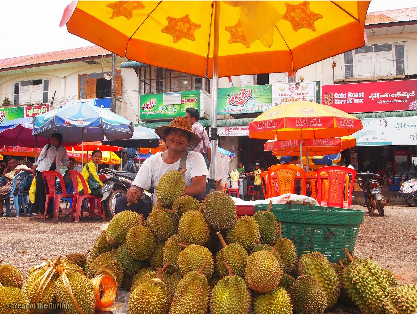Mawlamyine Myanmar  city photos : Learning to Chillax And Just Enjoy The Durian| Mawlamyine, Myanmar