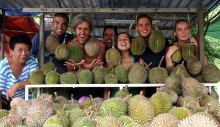 All About Capri at Eng Hoe Durian in Batu Ferringhi, Penang