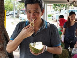 Best Johor Durian (D17) at D'Unforgettable Fruit Stall in Pontian