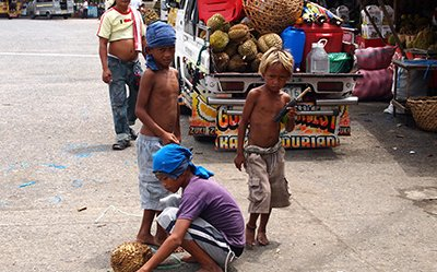 Magsaysay Durian Park and What To Do For Child Beggars
