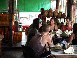 Rosario's Durian Restaurant at Bankerohan Market, Davao